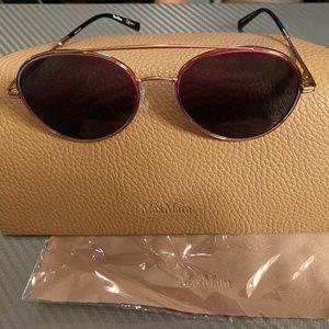 MaxMara Wire Aviator Sunglasses